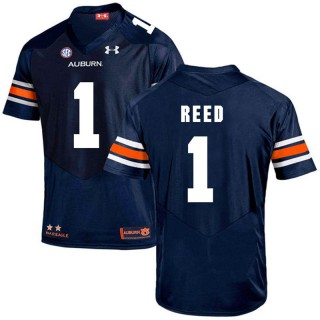 Auburn Tigers #1 Navy Trovon Reed College Football Jersey