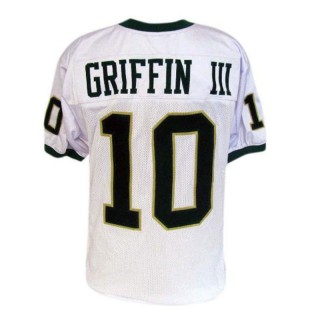 Baylor Bears #10 Robert Griffin III White Football Youth Jersey