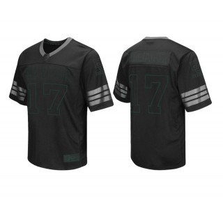 Baylor Bears #17 Male Black College Colosseum Blackout Football Jersey