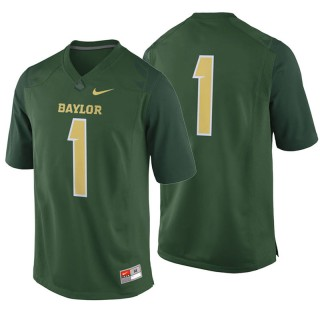 #1 Male Baylor Bears Green College Football Game Jersey