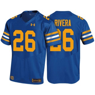 Male Bug Rivera Cal Bears Royal College 1975 Throwback Jersey