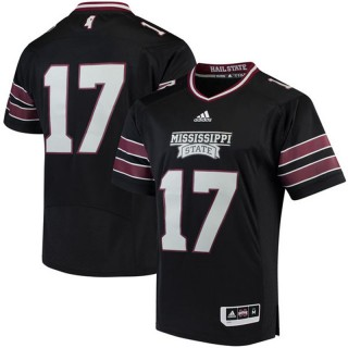 #17 Male Mississippi State Bulldogs Black NCAA 2017 Special Games Football Jersey