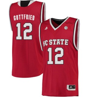 Male Cameron Gottfried North Carolina State Wolfpack Red ACC College Basketball Limited Jersey
