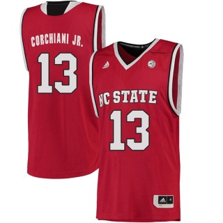 Male Chris Corchiani Jr. North Carolina State Wolfpack Red ACC College Basketball Limited Jersey