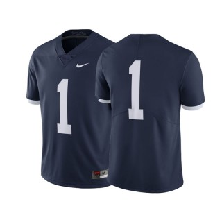 #1 Male Penn State Nittany Lions Navy College Football Throwback Jersey