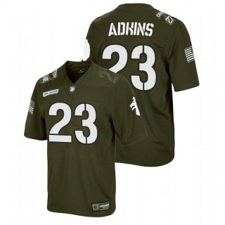 Anthony Adkins Army Black Knights Rivalry Olive Replica Jersey