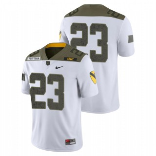 Anthony Adkins Army Black Knights 1st Cavalry Division White Limited Edition Jersey