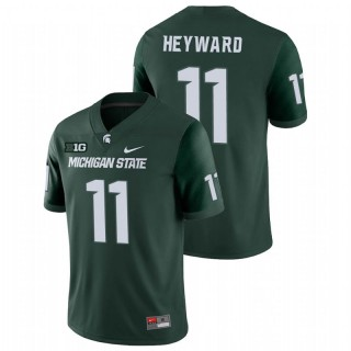 Connor Heyward Michigan State Spartans College Football Green Game Jersey