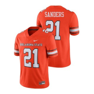 Barry Sanders Men's Oklahoma State Cowboys and Cowgirls Orange Alumni Football Game Player Jersey