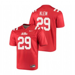 Campbell Klein Ole Miss Rebels Legend Red Football Jersey