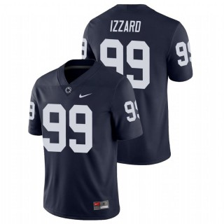Coziah Izzard Penn State Nittany Lions College Football Navy Game Jersey