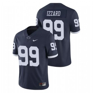 Coziah Izzard Penn State Nittany Lions Limited Navy College Football Jersey