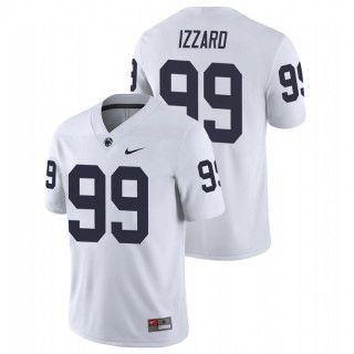 Coziah Izzard Penn State Nittany Lions College Football White Game Jersey