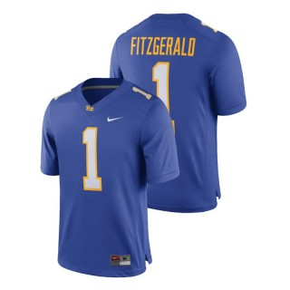 Larry Fitzgerald Men's Pittsburgh Panthers Royal Alumni Football Game Player Jersey