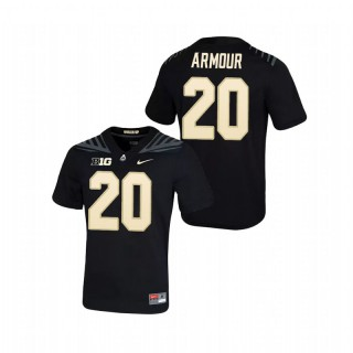 Alfred Armour Purdue Boilermakers Game Black Football Jersey