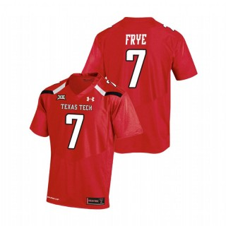 Adrian Frye Texas Tech Red Raiders College Football Red Replica Jersey