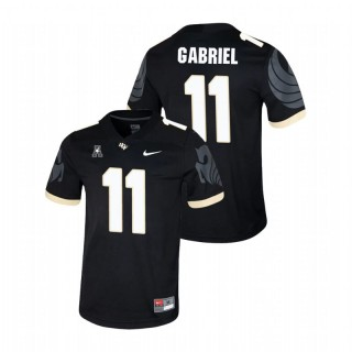 Dillon Gabriel UCF Knights College Football Black Game Jersey