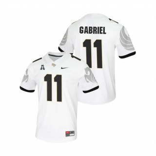 Dillon Gabriel UCF Knights College Football White Untouchable Game Jersey