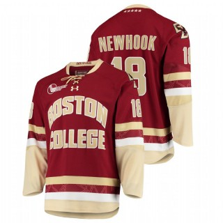 Alex Newhook Boston College Eagles College Hockey Maroon Jersey