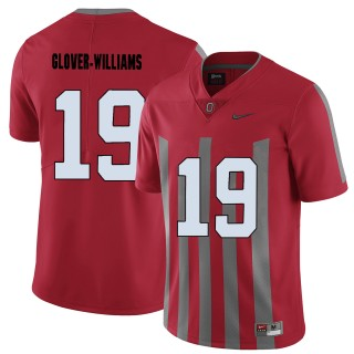 Ohio State Buckeyes Eric Glover-Williams Red College Football Jersey