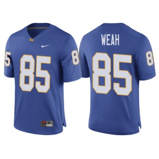 Jester Weah Pittsburgh Panthers Royal Ncaa College Football 2017 Special Game Jersey