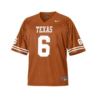 Jake Oliver Texas Longhorns Burant Orange Ncaa College Football 2017 Special Game Jersey
