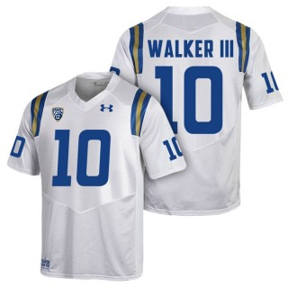 Kenneth Walker III UCLA Bruins White College PAC-12 2017 Season New Under Armour Player Jersey